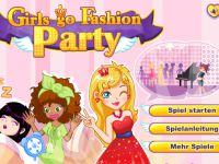 Styling fuer die Party